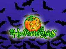 Онлайн автомат Хеллоуин на зеркале клуба Вулкан